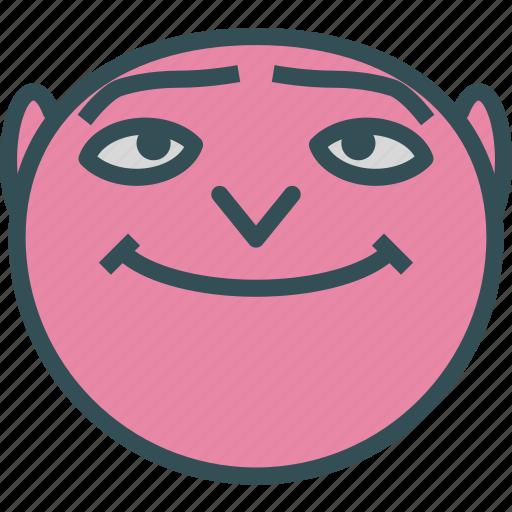 avatar, character, despicableme, gru, minion, profile, smileface icon