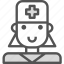 avatar, character, dentistfemale, profile, smileface icon