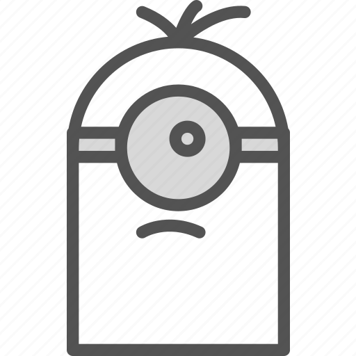 avatar, bob, character, despicableme, minion, profile, smileface icon