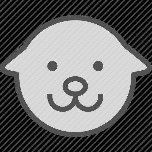 avatar, character, dog, profile, smileface icon