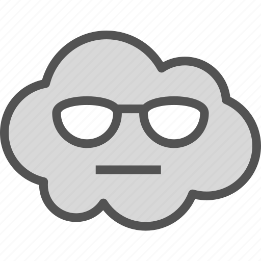 avatar, blind, character, profile, smileface icon