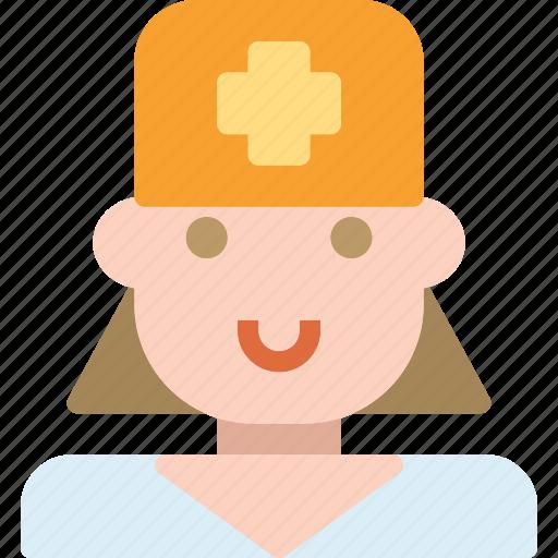 avatar, character, dentistfemale, profile, smileface icon