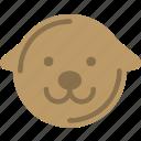 avatar, character, dog, profile, smileface