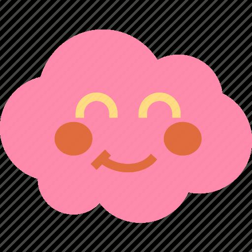 avatar, blush, character, profile, smileface icon