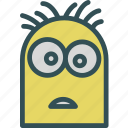 avatar, character, despicablme, minion, profile, smileface, steward icon