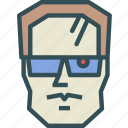 avatar, character, profile, smileface, terminator icon