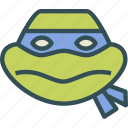 avatar, character, michelangelo, profile, smileface, turtleninja icon