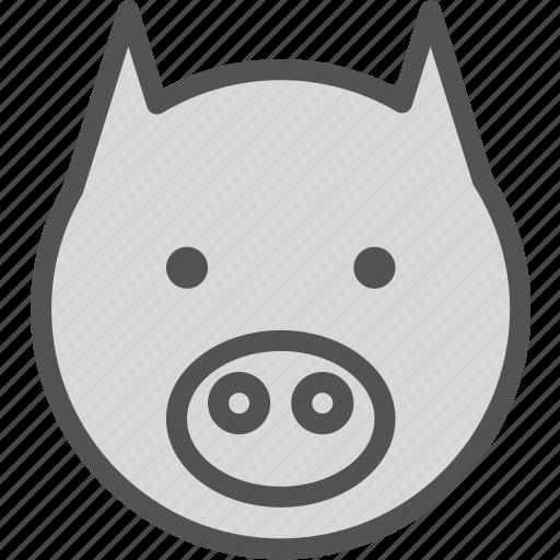 animal, avatar, character, horse, profile, smileface icon