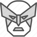 avatar, character, marvel, profile, smileface, superhero, wolverine