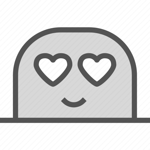 avatar, character, inloved, profile, smileface icon