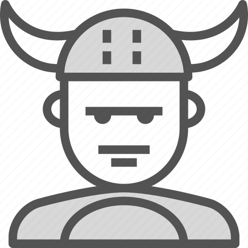 avatar, character, profile, smileface, viking icon