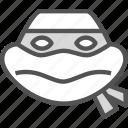 avatar, character, michelangelo, profile, smileface, turtleninja icon