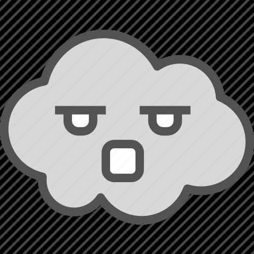 avatar, character, profile, sad, smileface icon