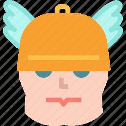 avatar, character, demigod, profile, smileface, superhero, thor icon