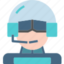 profile, character, avatar, smileface, pilot icon
