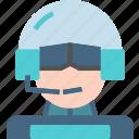 avatar, character, pilot, profile, smileface