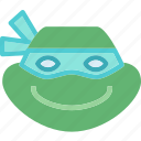 avatar, character, profile, rafaelo, smileface, turtleninja icon