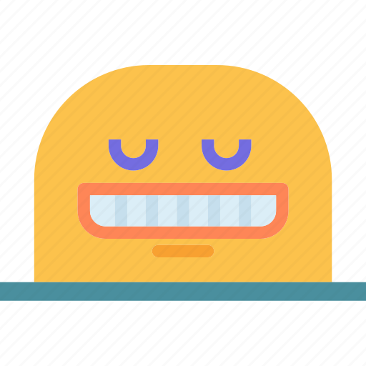 avatar, character, profile, satisfied, smileface icon