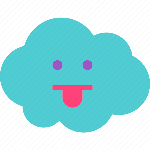 avatar, character, profile, smileface, tongue icon