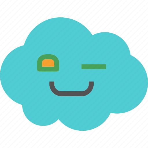 avatar, character, profile, smileface, winkle icon