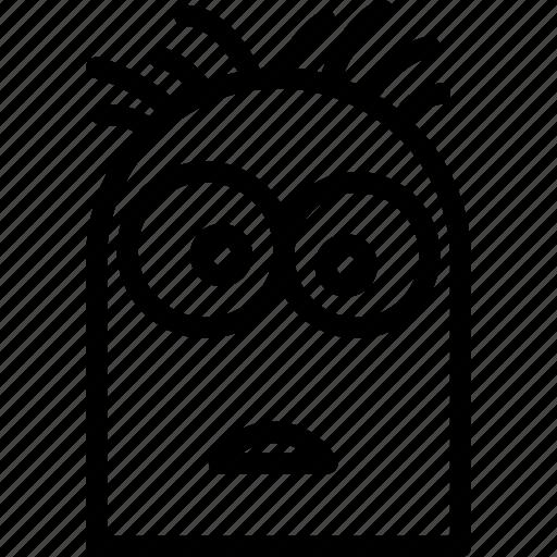 avatar, character, despicablme, minion, profile, smileface, steward icon
