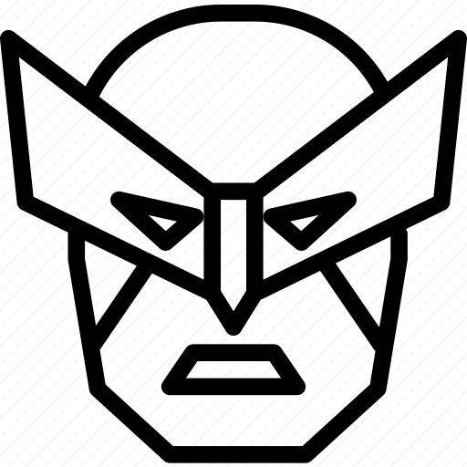 avatar, character, marvel, profile, smileface, superhero, wolverine icon