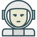 astronaut, avatar, human, space, trooper icon