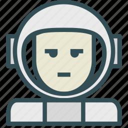 astronaut, avatar, human, space, trooper icon