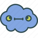 avatar, cloud, stupid, weird icon