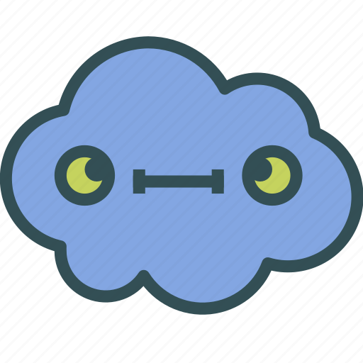 avatar, cloud, stupid, weird icon