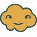 avatar, cloud, eyes, happy, weird icon