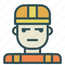 avatar, construction, human, worker icon