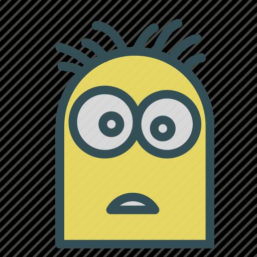 avatar, despicable, humanoid, me, minion icon