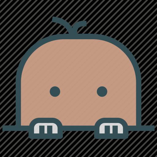 animal, avatar, fictional, mole icon