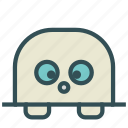 avatar, face, fictional, mole, surprised icon