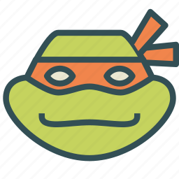 avatar, humanoid, michaelangelo, ninja, turtle icon