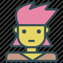 avatar, human, kid, punk, rock icon