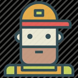 avatar, farmer, human, redneck icon