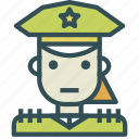 avatar, female, general, human, soldier, star, trooper icon