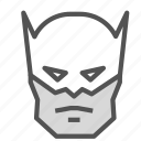 avatar, batman, humanoid, superhero icon