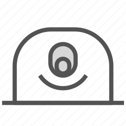 avatar, cyclops, face, happy, mole icon