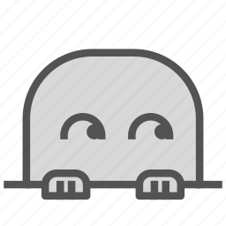 avatar, eyes, face, fictional, mole, rolling icon
