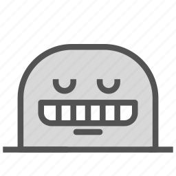 avatar, face, fictional, mole, smile, teeth icon