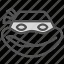 avatar, humanoid, ninja, raphaelo, turtle icon