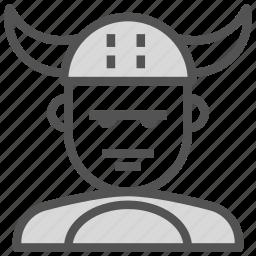 avatar, human, viking, warrior icon