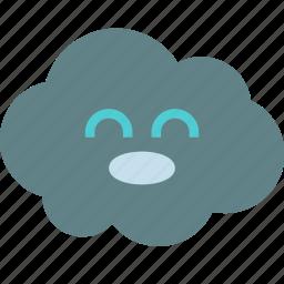 avatar, cloud, happy, kid icon