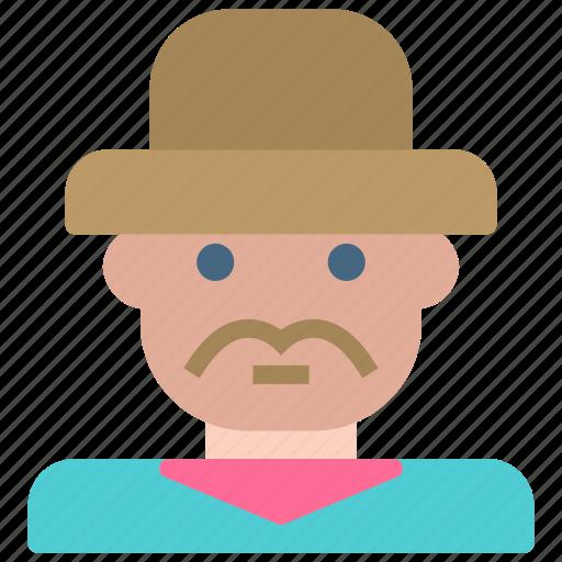 avatar, gentleman, human, man icon