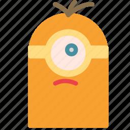 avatar, despicable, eye, humanoid, me, minion, one icon