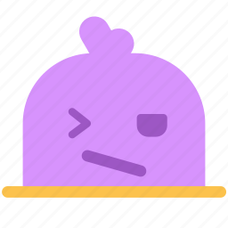 angry, avatar, face, fictional, mole, wink icon