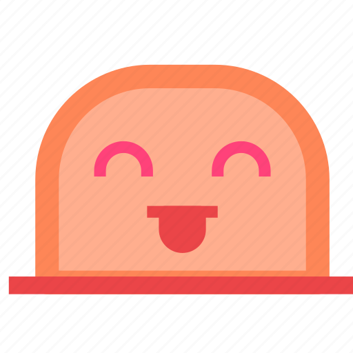 avatar, face, happy, mole, toung icon